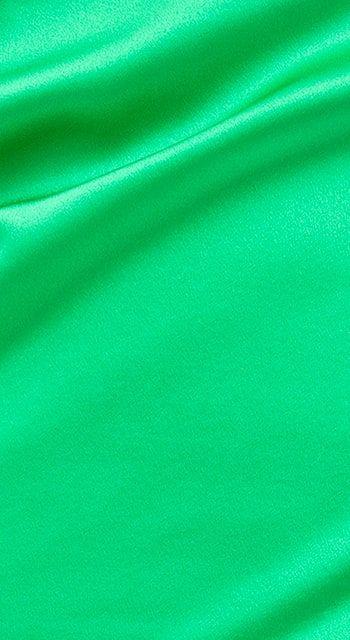 Emerald Green Silk PJ Shorts