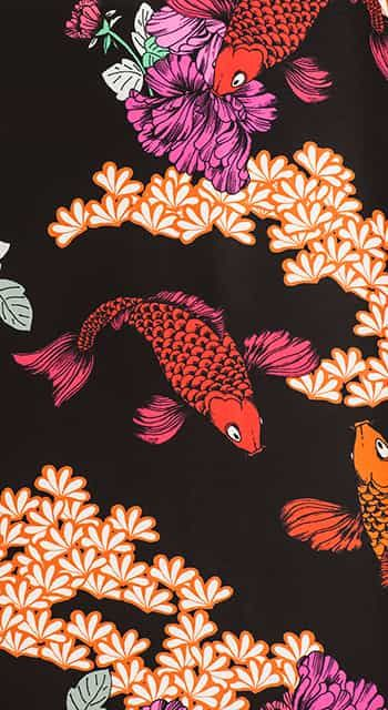 Fancy Fish Silk Pyjamas