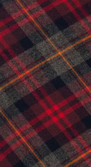 Highland Plaid Dressing Gown