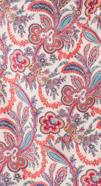Paisley Buds Dressing Gown