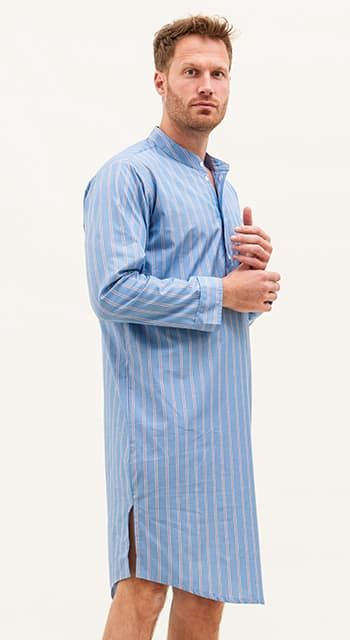 mens cotton nightshirt