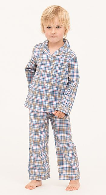 Lincoln Check Pyjamas (2-8yrs)