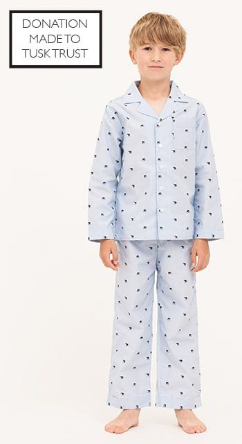 boys elephant pyjamas