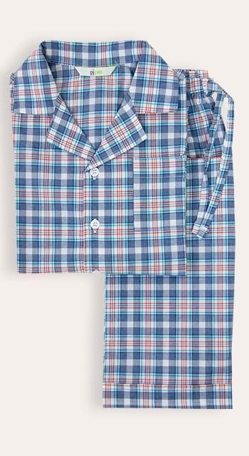 boys summer pyjamas in cotton