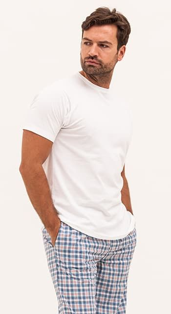 mens lightweight cotton pyjamas