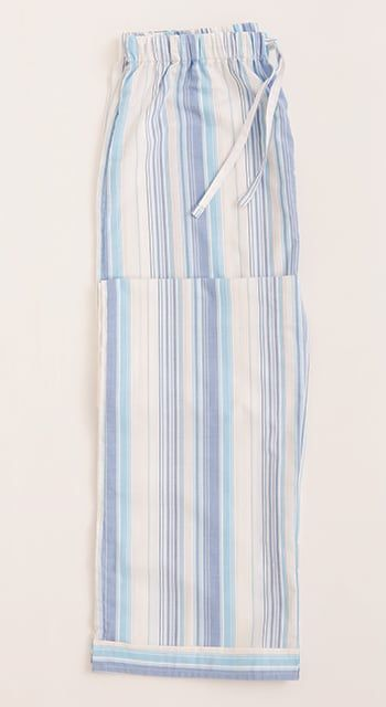 turquoise stripe pj bottoms