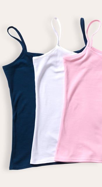 coral bamboo jersey vest top