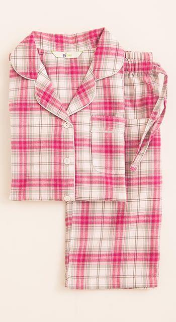 boys red stripe pyjamas