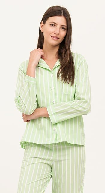 womens green pyjamas