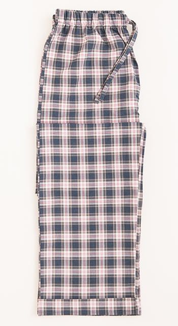 brushed cotton striped boys pyjama trousers