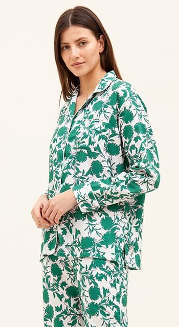 pink cotton pyjamas