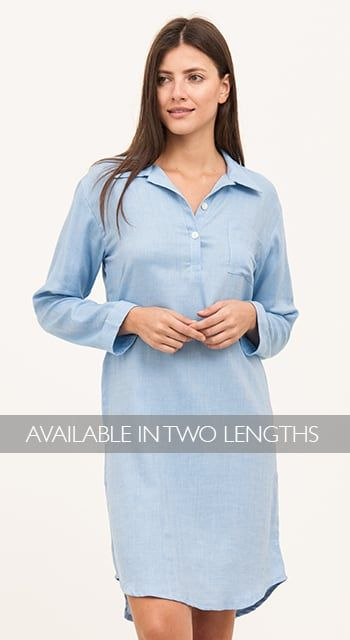 9ac212ef2a ladies organic cotton nightshirt ...