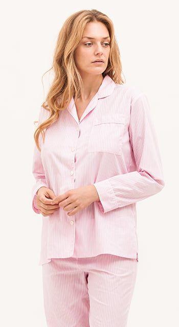 Windermere Pink Stripe Pyjamas
