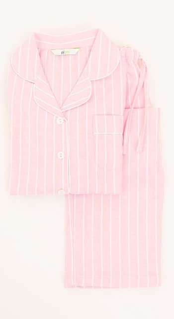 girls brushed cotton pyjamas