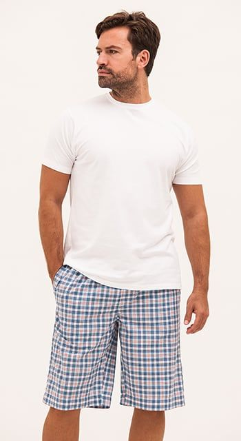 mens summer pyjama shorts