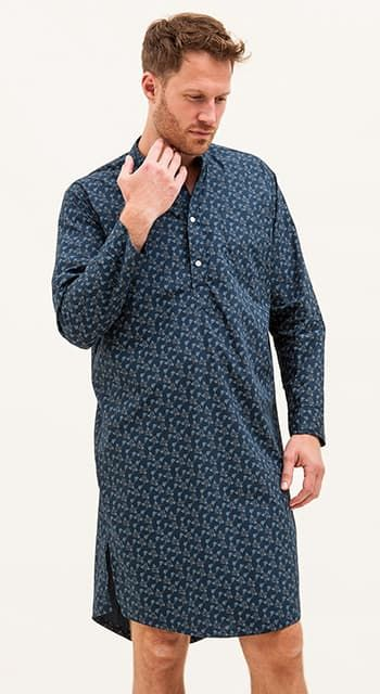 mens egyptian cotton nightshirt