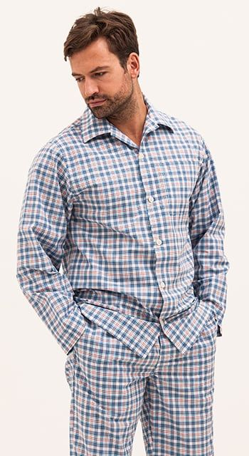 mens cotton pyjamas for summer