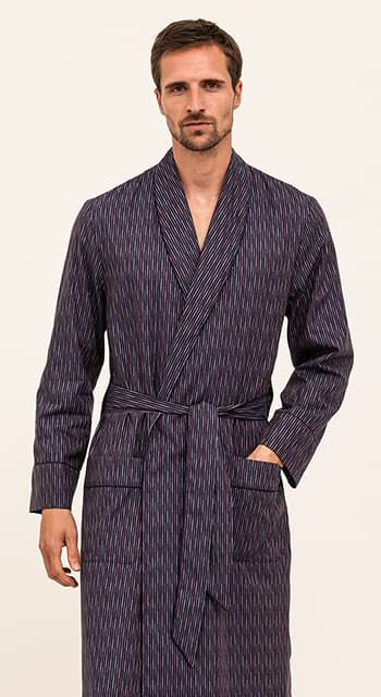mens luxury dressing gown