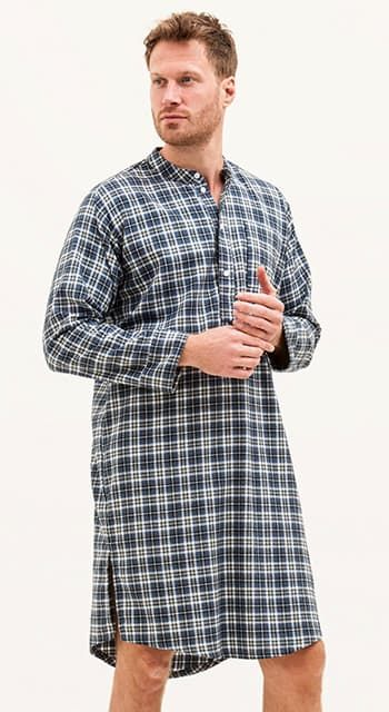 mens organic cotton nightshirt