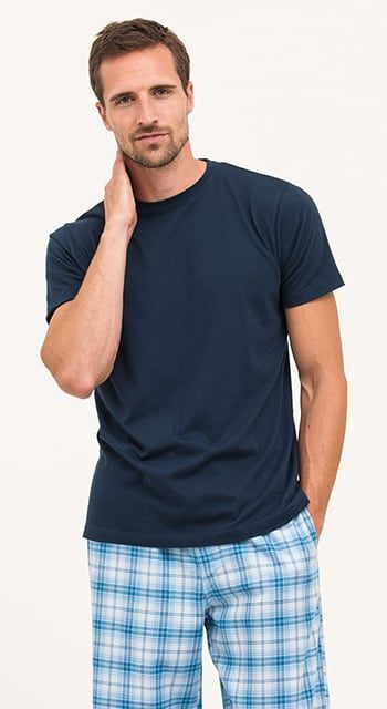 organic cotton pj bottoms for men