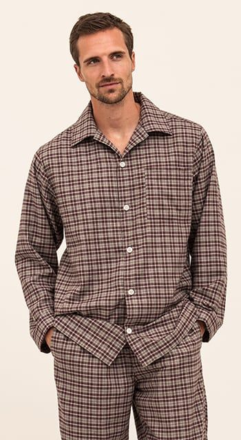 mens organic cotton pyjamas