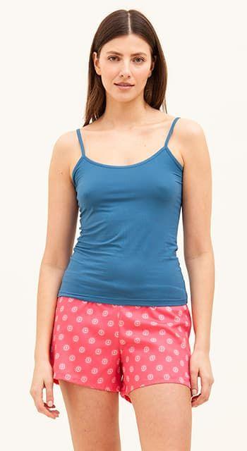 pretty pyjama shorts in cotton lawn
