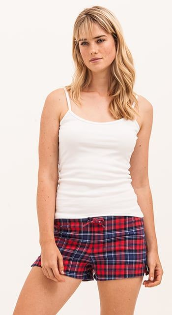 cosy brushed cotton pj shorts