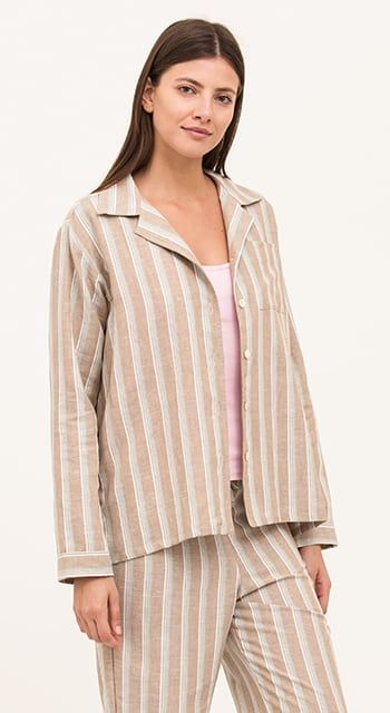 womens linen pyjamas