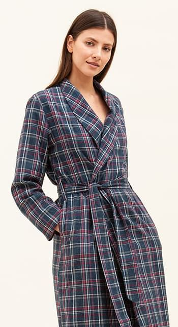 womens wool dressing gown