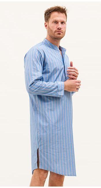 mens cotton nightshirt