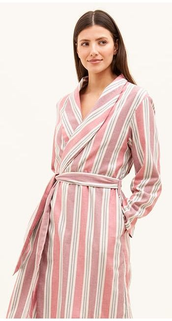 womens british made dressing gown
