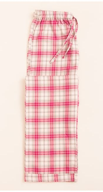 brushed cotton girls pyjama bottoms