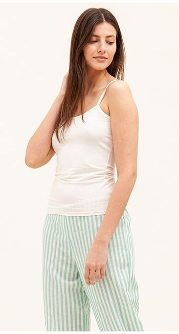 womens tall striped pyjama bottoms