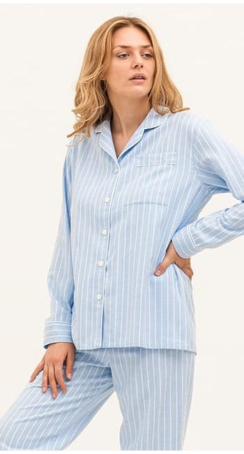 stylish brushesd cotton pajamas