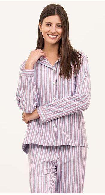 luxury womens long pyjamas