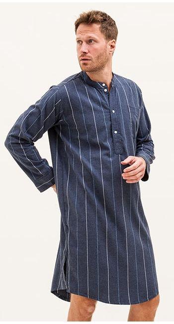 mens luxury nightshirt