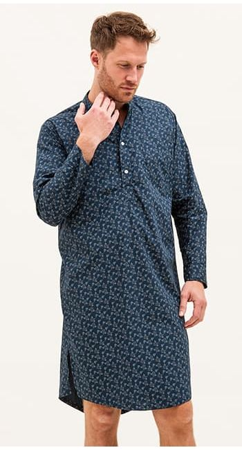 mens egyptian cotton nightshirt