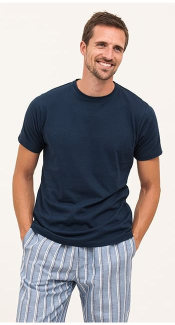 linen pyjama bottoms for men