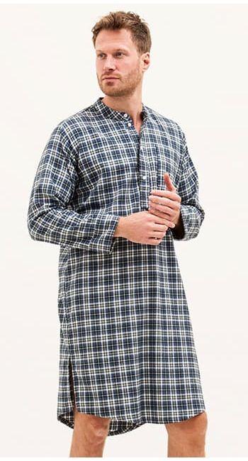 mens organic cotton nightshirt