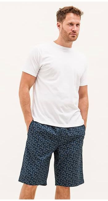 mens elephant pj shorts