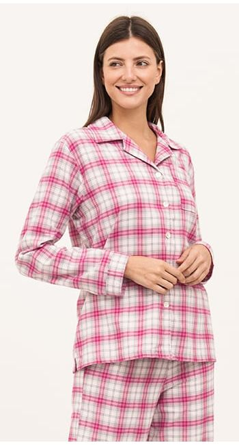 brushed cotton pjs