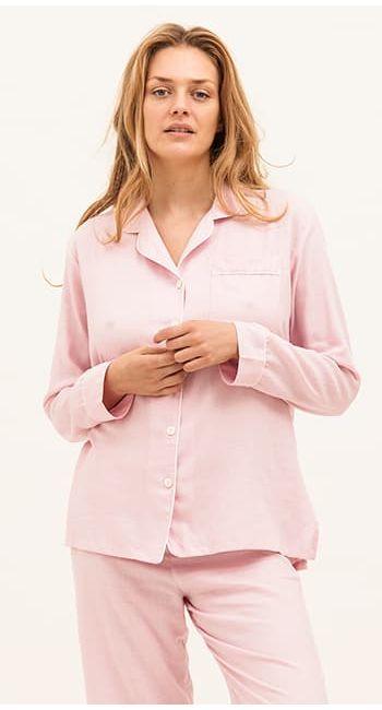luxury blue cashmere pyjamas