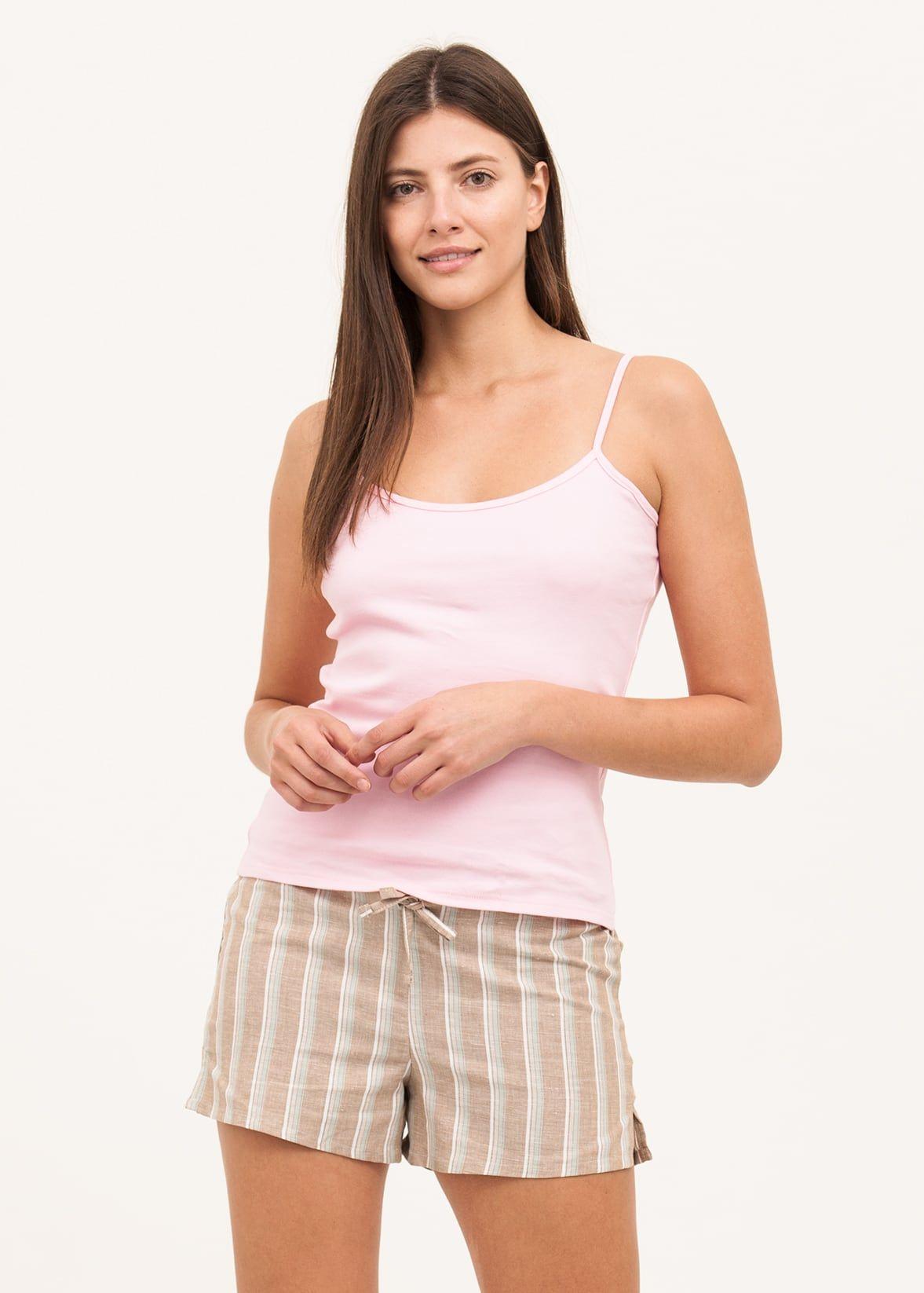 Linen Pyjama Shorts for Women  c239fbf3a2