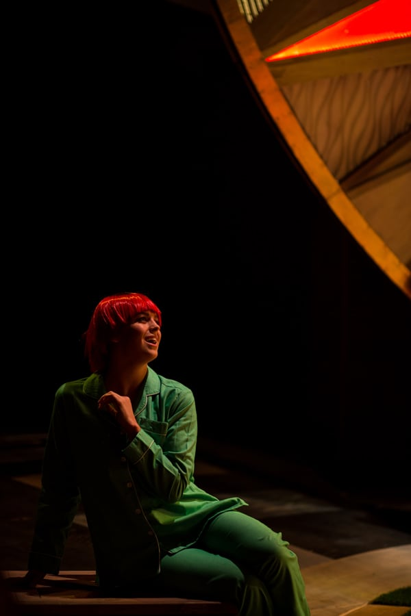 Grasshopper pyjamas in The Wizard of Oz - Crucible Theatre