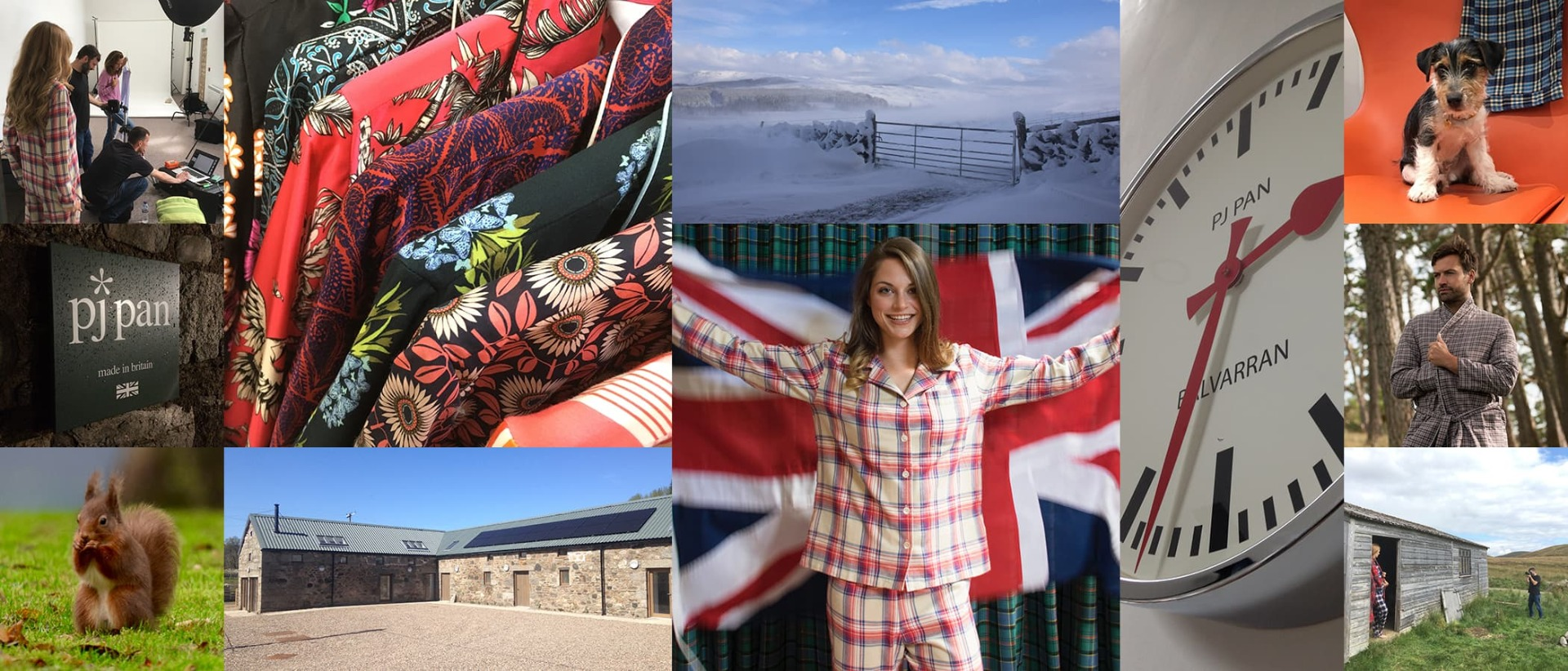 British made nightwear from the Highlands