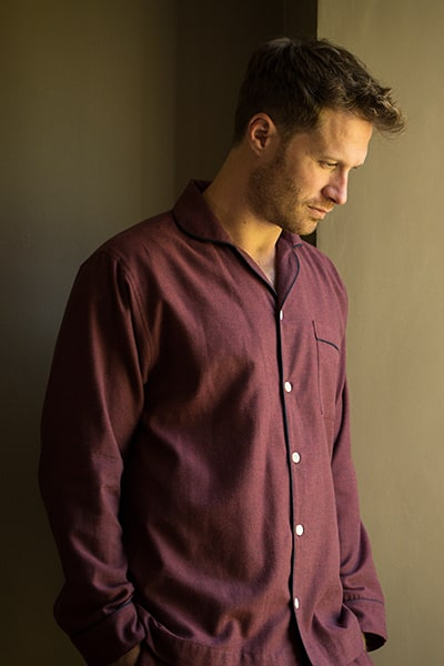 Men's luxury pyjamas