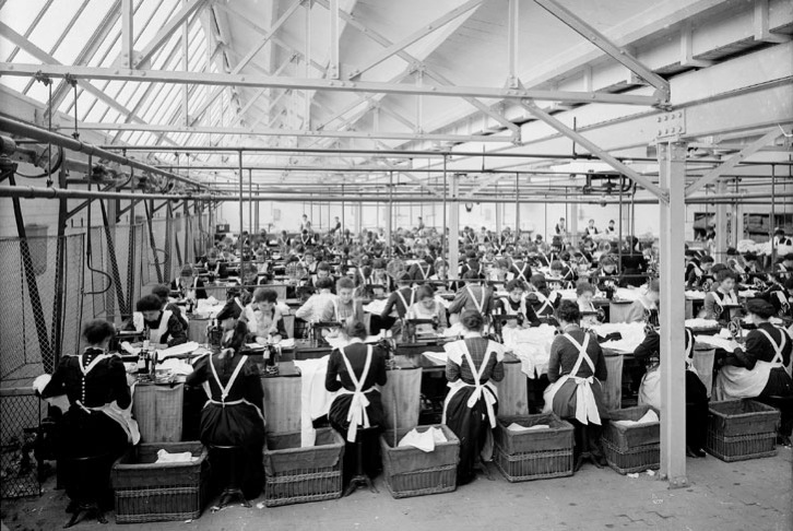 British Manufacturing during its heyday