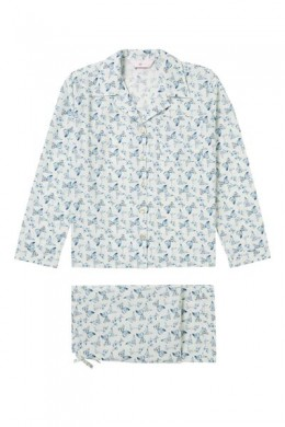 Pair of cotton pyjamas with butterfly print