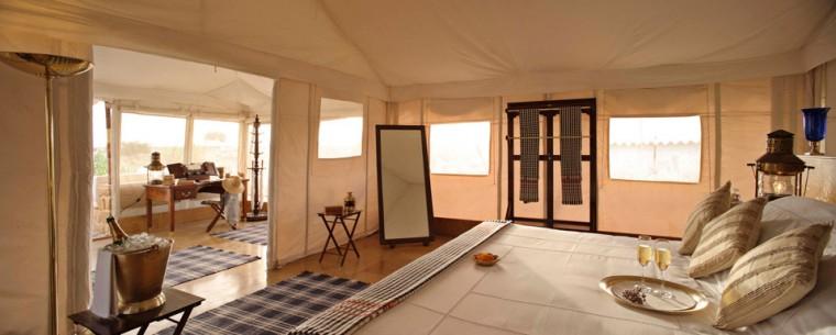 Beautiful camp tent